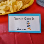 A Mickey Mouse Clubhouse Birthday Party Part 2: The Food