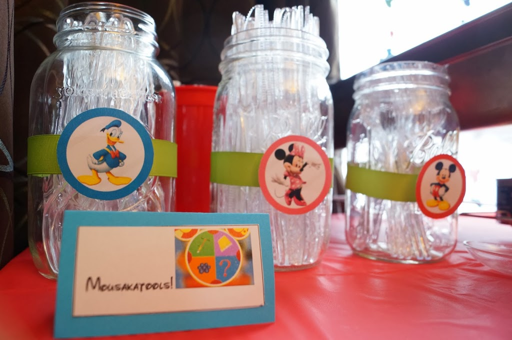 Mickey Mouse Clubhouse Birthday Party Table Decor