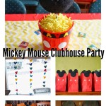 A Mickey Mouse Clubhouse Birthday Party Decorations