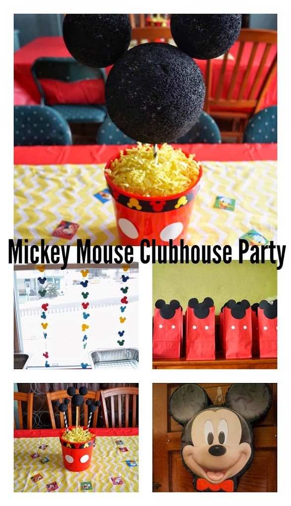 mickey mouse clubhouse birthday party decorations
