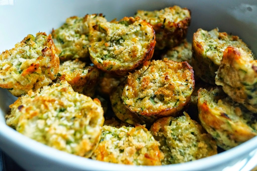Healthy Zucchini Tots