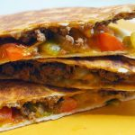 Easy and Cheesy Cheeseburger Quesadillas