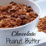 Homemade Chocolate Peanut Butter Granola
