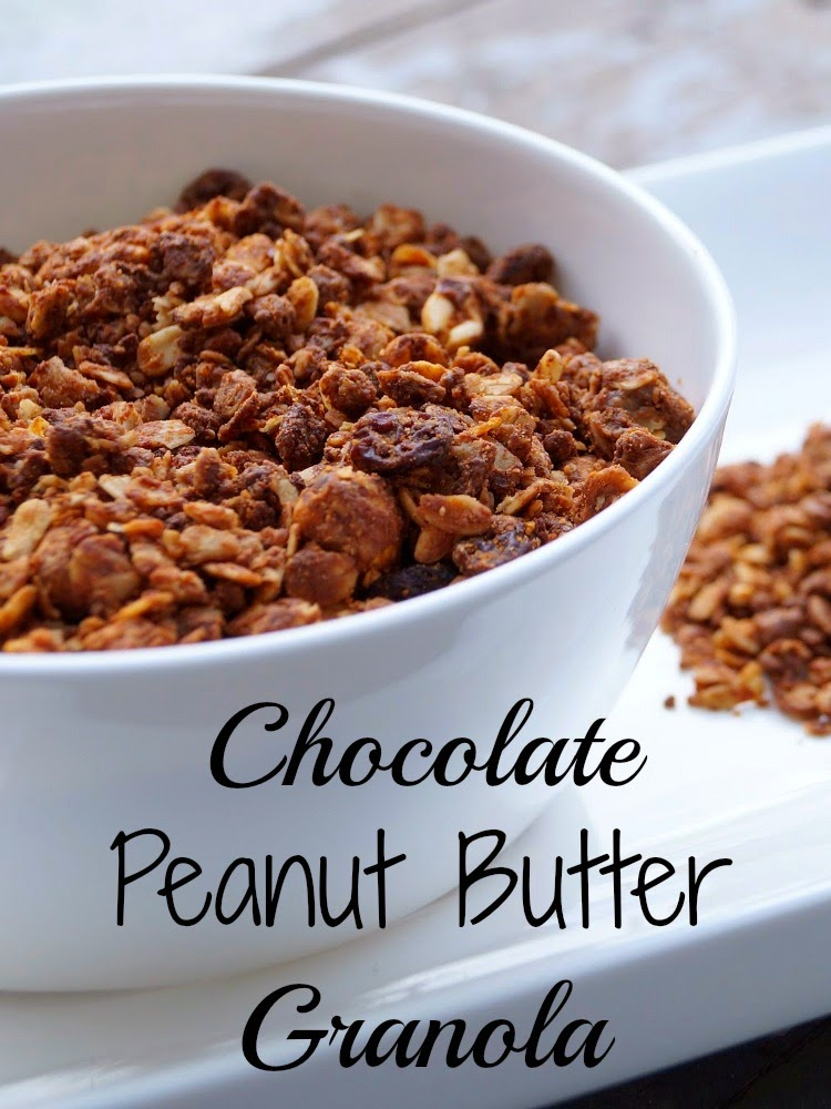 Homemade Chocolate Peanut Butter Granola