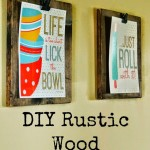 DIY Wood Clip Boards