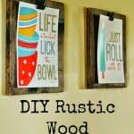 DIY Wood Clip Boards