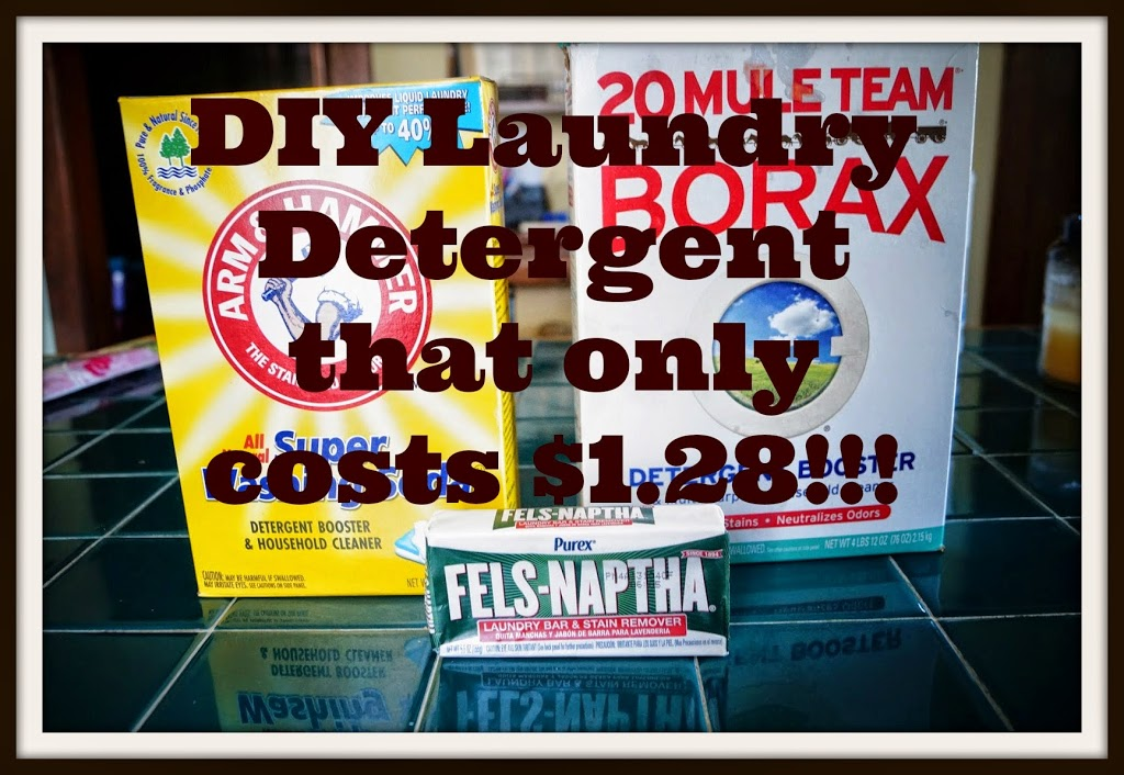 Homemade and Cheap Laundry Detergent