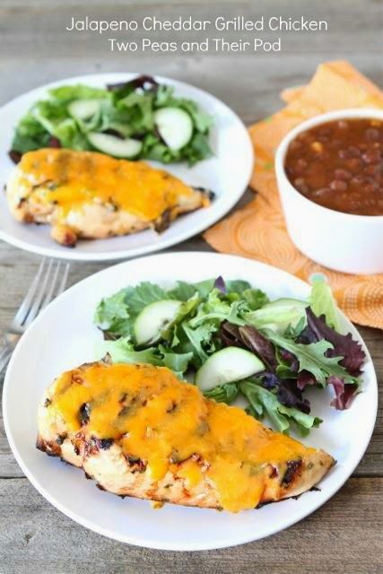 Jalapeno Cheddar Grilled Chicken