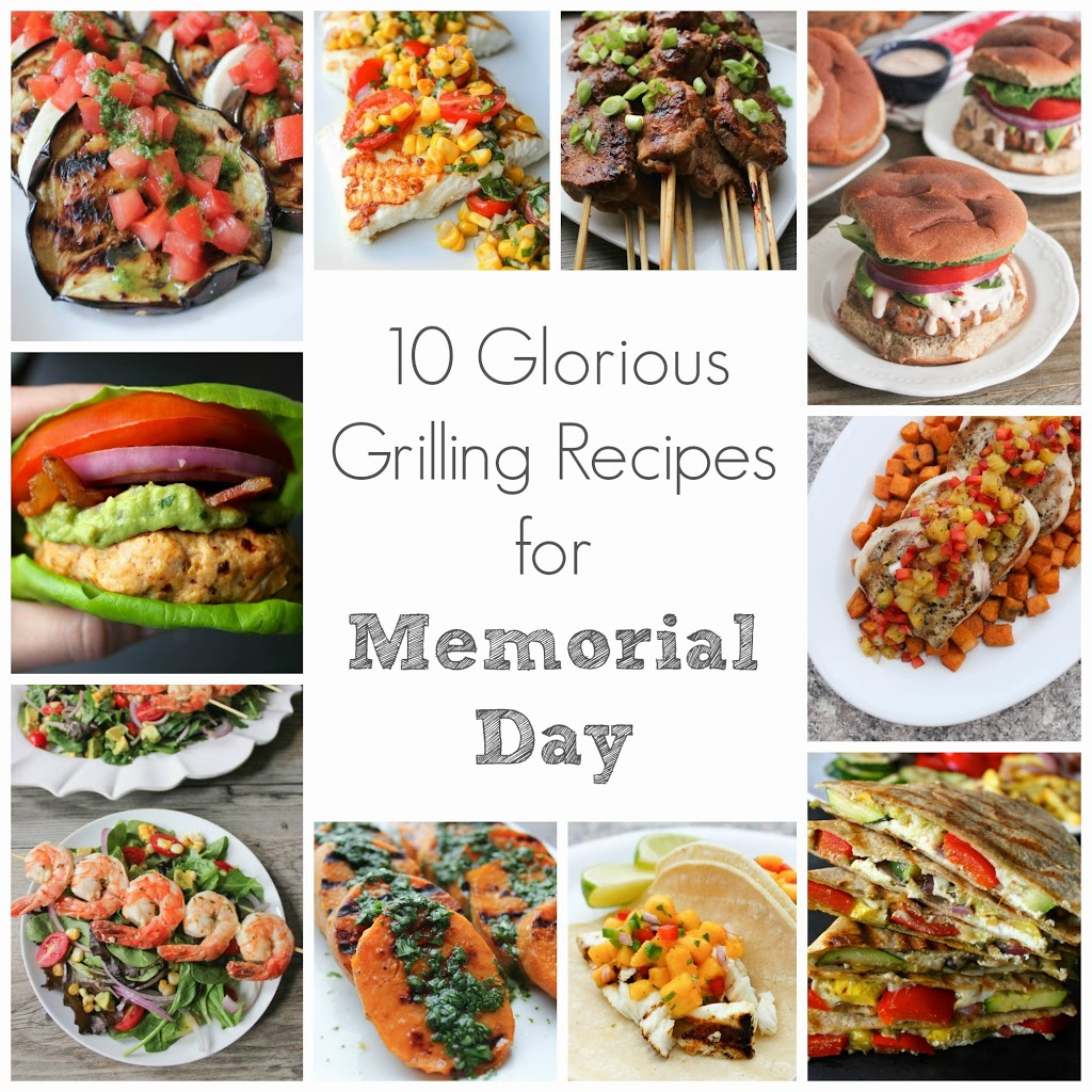 Grilling Recipe Round Up