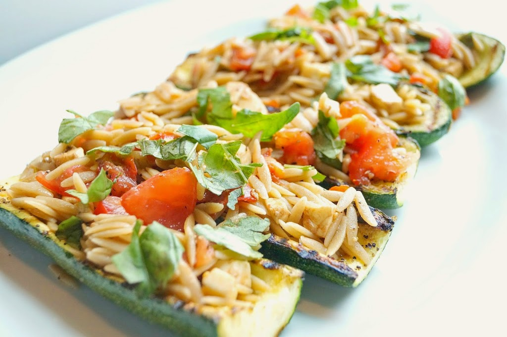 Weight Watchers Grilled Stuffed Zucchini