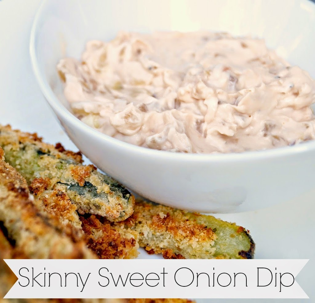 Skinny Sweet Onion Dip