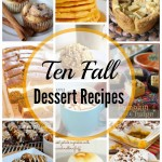 10 Dessert Recipes for Fall