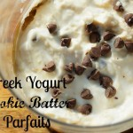 Greek Yogurt Cookie Batter Parfaits