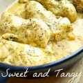 Sweet and Tangy Mustard Baked Chicken