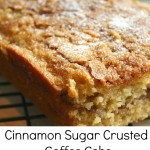 Cinnamon Sugar Crusted Coffee Cake