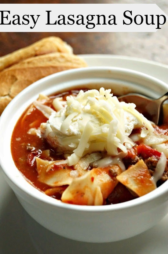 Easy Lasagna Soup: A comforting and delicious way to enjoy an Italian favorite!
