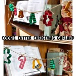 Cookie Cutter Christmas Garland