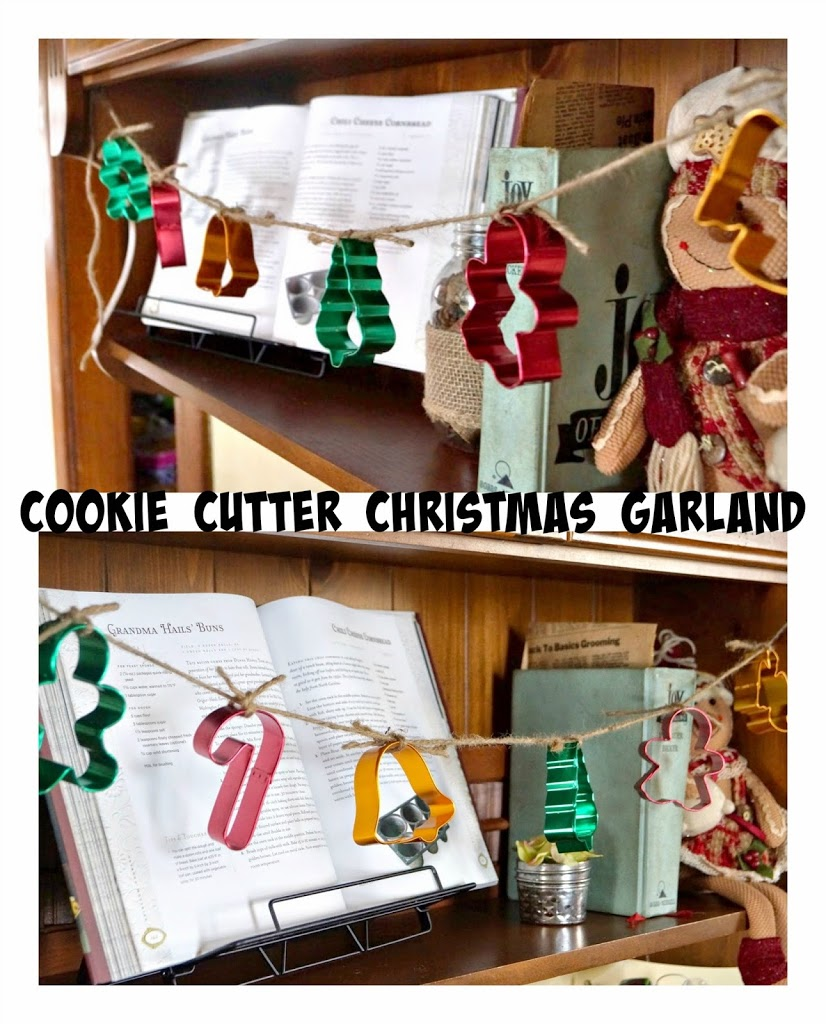 Old House Christmas Decorations: Cookie Cutter Christmas Garland