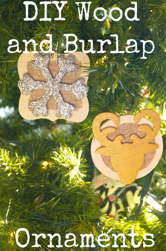 Burlap Christmas Trees