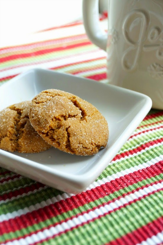 Soft and Chewy Gingersnaps