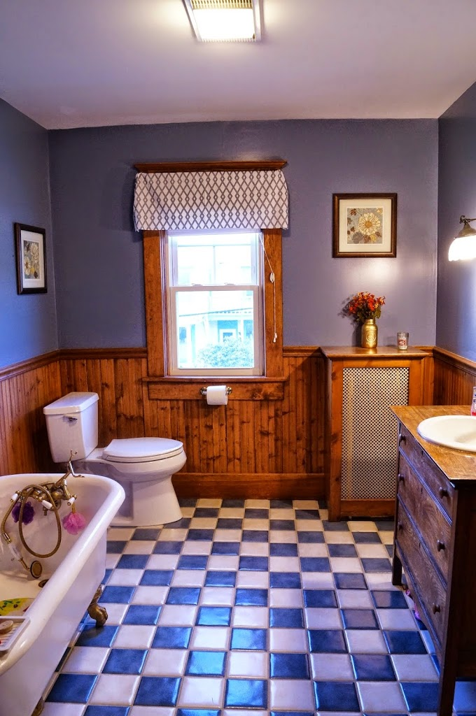 Our traditional main bathroom remodel