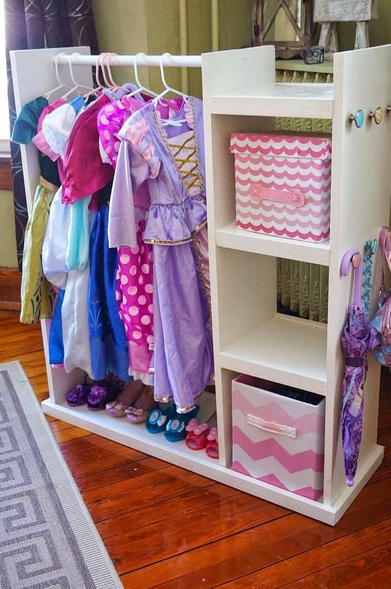 DIY Dress Up Storage Cart