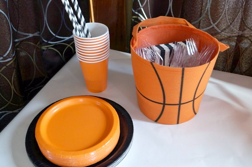 Easy Basketball Party