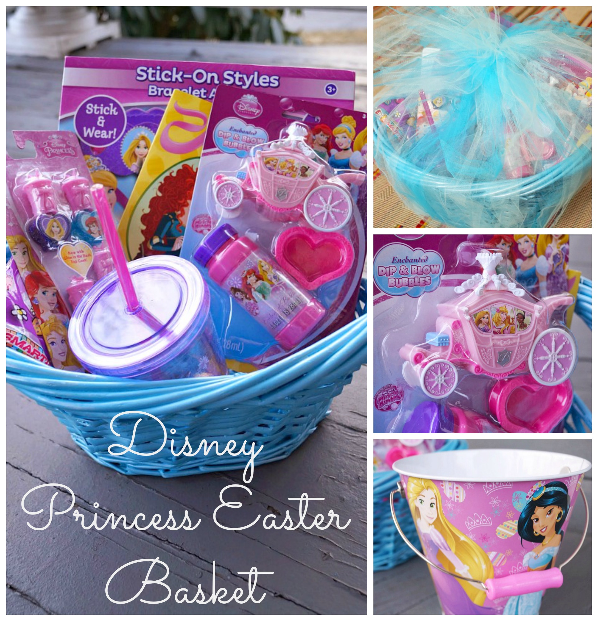 Diy disney princess easter basket negle Images