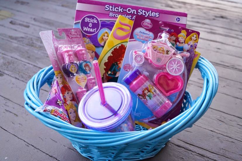 Diy disney princess easter basket i bought this blue basket which i thought was the perfect cinderella color at walmart for less than 5 dollars walmart has a great selection of basket and negle Images