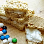 Fluffer Nutter Rice Krispie Treat Sandwiches