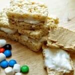 Fluffer Nutter Rice Krispie Treat Sandwiches