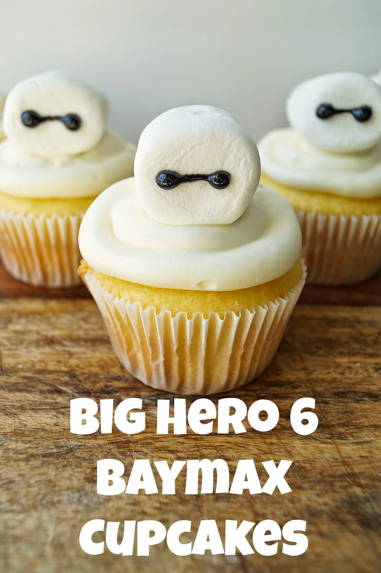 Easy and Adorable Big Hero 6 Cupcakes