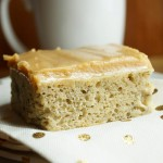 Banana Bread Brownies with Peanut Butter Cream Cheese Frosting