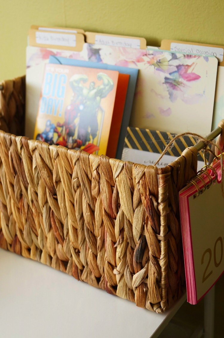 DIY Ready to Go Greeting Card Station