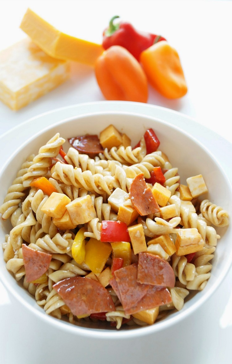 Easy Balsamic Pasta Salad