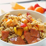 Easy Pasta Salad with Balsamic Dressing
