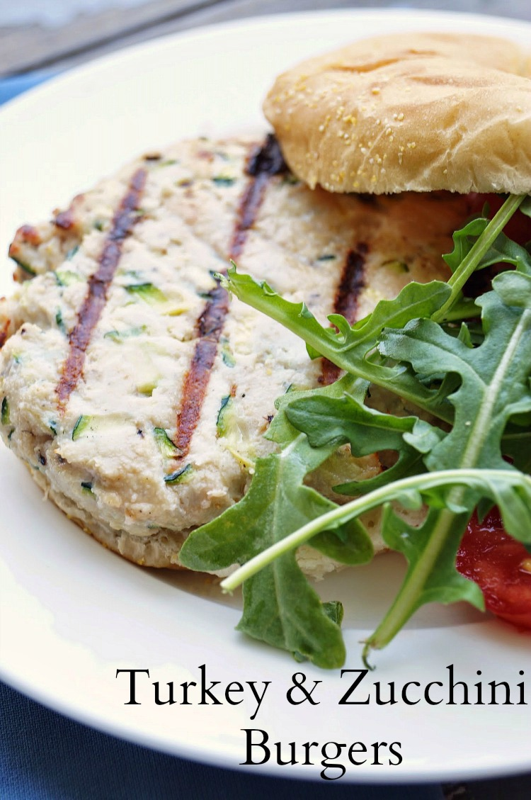 The BEST turkey burger I have ever had! Laced with shredded zucchini, this burger is delicious and healthy! It is Weight Watchers friendly too!