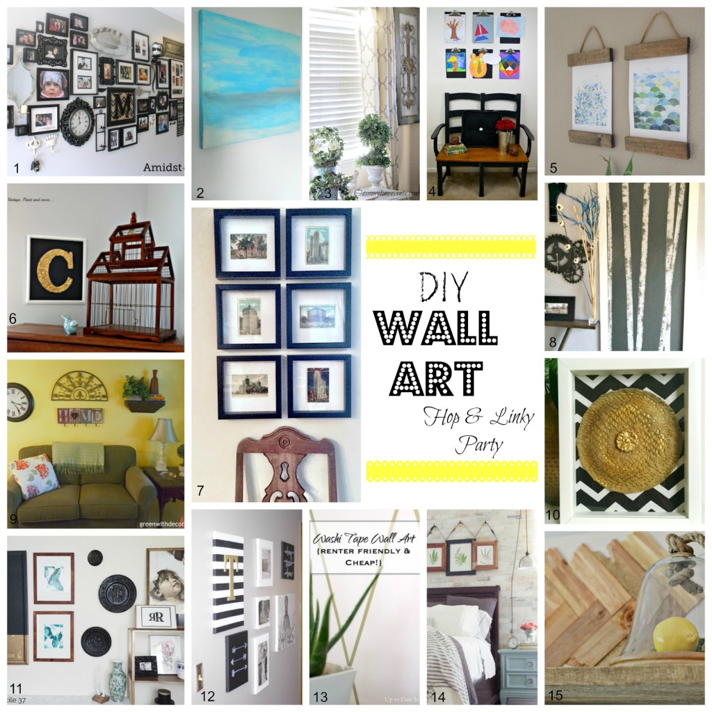 15 Easy DIY Wall Art Projects!