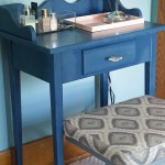 Make Up Vanity Refinish and Organization