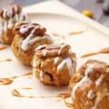 Caramel Coated Pecan Pie Cake Balls