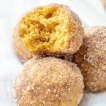 Easy Cinnamon Sugar Pumpkin Spice Donut Muffins