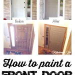 Easy Front Door Face Lift