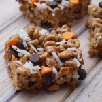 Chocolate Peanut Butter No Bake Cheerios™ Bars with Coconut