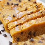 Gluten Free Healthy Pumpkin Chocolate Chip Bread