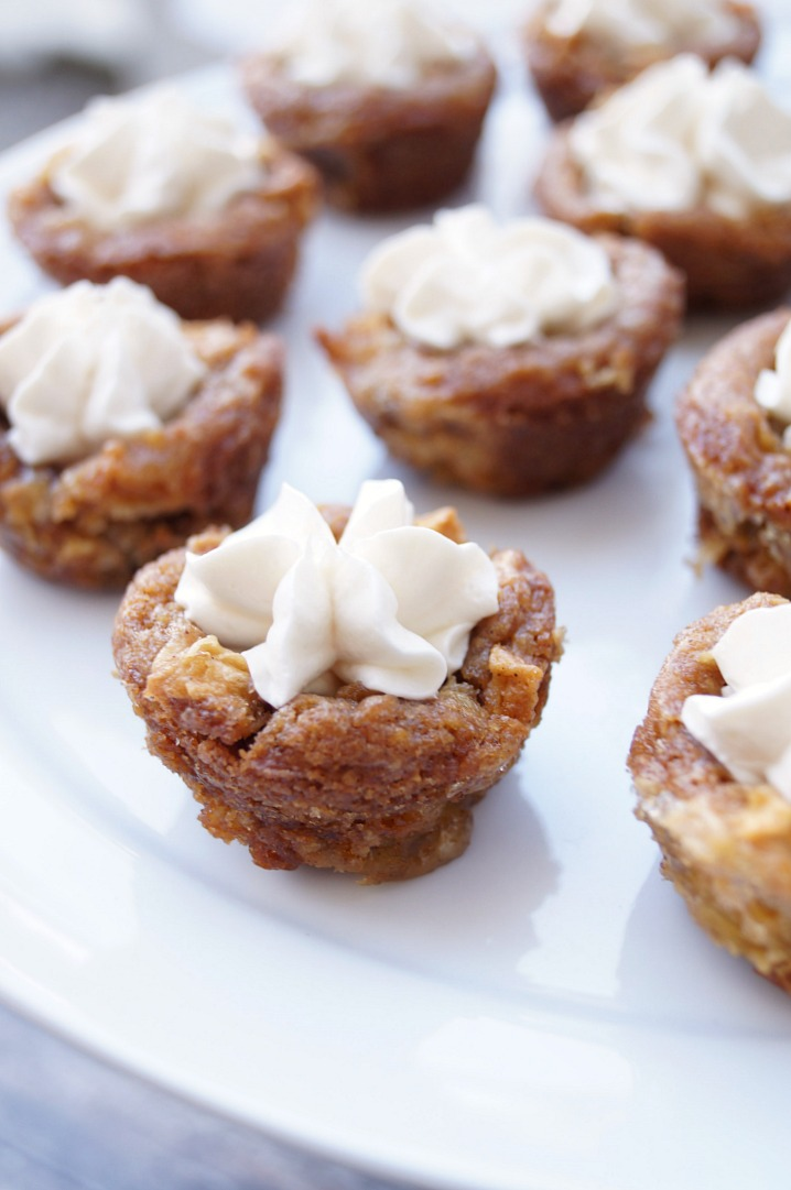 Cheesecake Stuffed Apple Cinnamon Cookie Cups