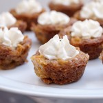 Cheesecake Stuffed Cinnamon Apple Cookie Cups