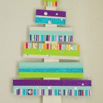 Colorful Tape Christmas Tree