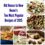 Ten Most Popular Recipes in 2015!