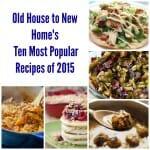 Ten Most Popular Recipes in 2015!