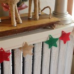 Effortless Burlap Star Bunting